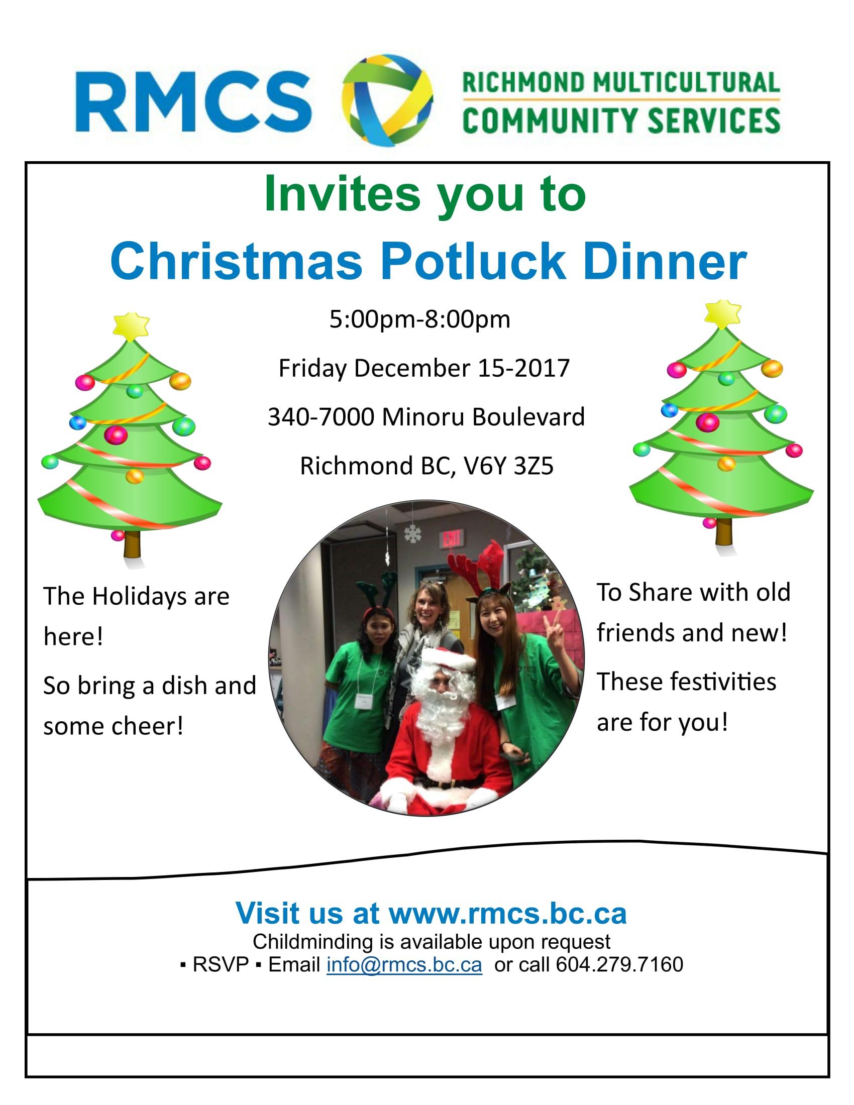 potluck invitation template