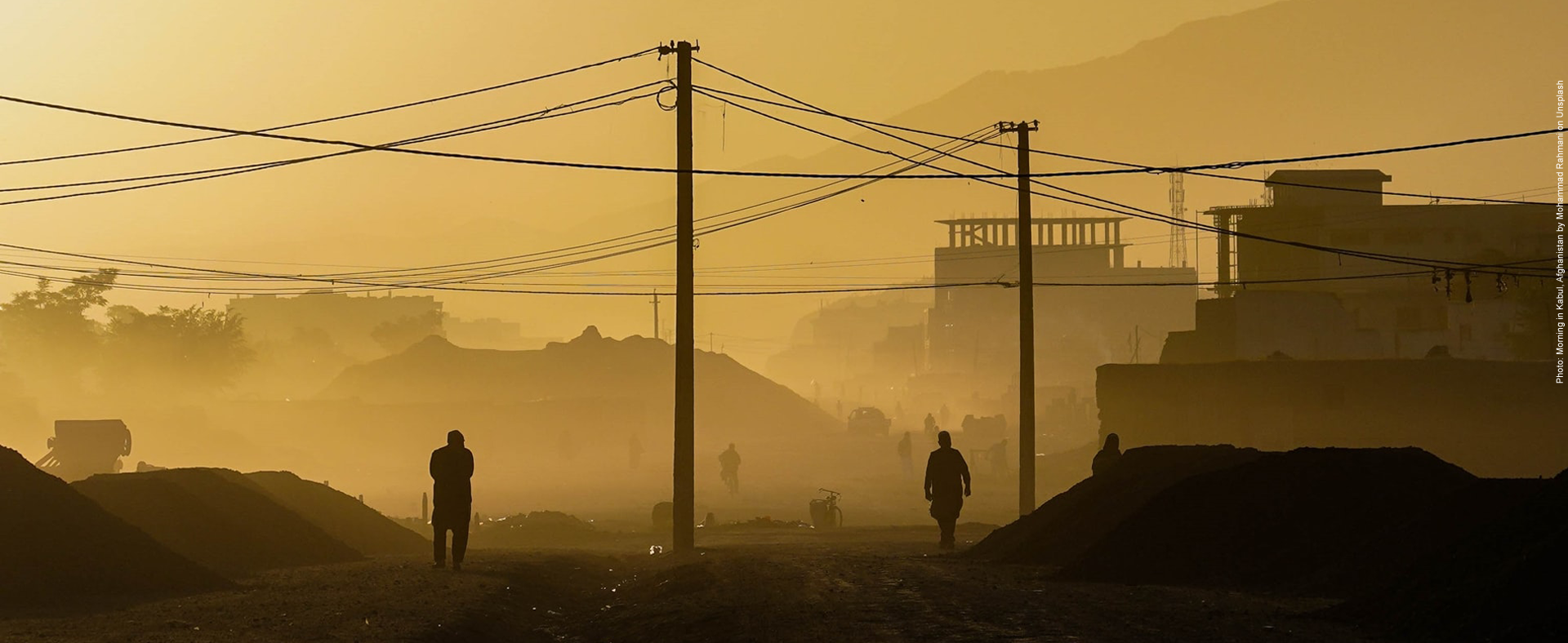 Morning in Kabul, Afghanistan by Mohammad Rahmani on Unsplash